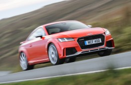 Audi TT RS Coupe, 2016, front