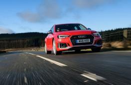 Audi RS 4 Avant, 2018, front