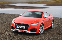 Audi TT RS Coupe, 2016, front, static