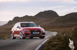 Audi RS 4 Avant, 2018, front, static