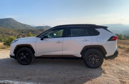 Toyota RAV4, 2019, side