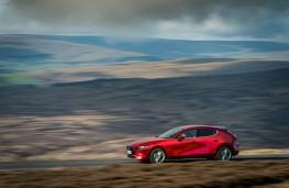 Mazda3, side, action