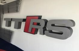 Audi TT RS, logo