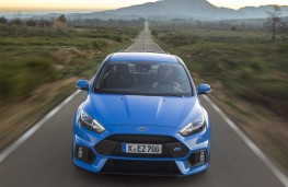 Ford Focus RS, nose, action