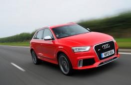 Audi RS Q3, front