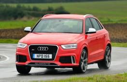 Audi RS Q3, front, action