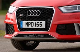 Audi RS Q3, grille