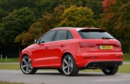 Audi RS Q3, rear