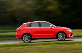 Audi RS Q3, side, action