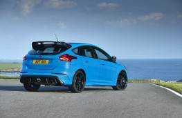 Ford Focus RS Edition, 2017, rear, static