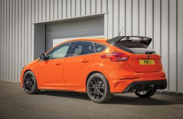 Ford Focus RS Heritage Edition, 2018, rear