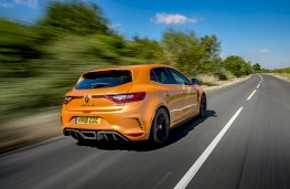 Renault Megane RS 280, 2018, rear, action