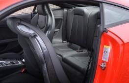 Audi TT RS Coupe, 2016, rear seats
