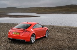Audi TT RS Coupe, 2016, rear, static