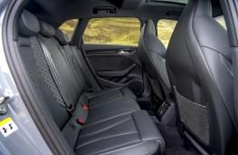 Audi RS 3 Sportback, 2019, rear seats