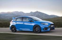 Ford Focus RS, side, action