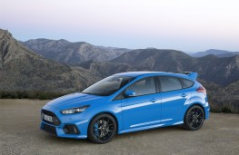 Ford Focus RS, side, static