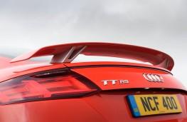 Audi TT RS Coupe, 2016, spoiler