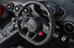 Audi TT RS Coupe, 2016, steering wheel