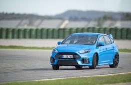 Ford Focus RS, track, corner
