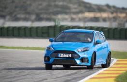 Ford Focus RS, track, slide
