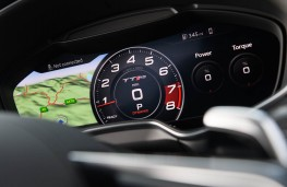 Audi TT RS Coupe, 2016, instrument panel
