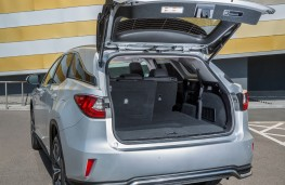 Lexus RX 450hL, 2018, boot, seat folded