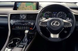 Lexus RX 450h, 2016, dashboard
