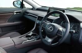 Lexus RX 450h, 2016, interior