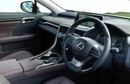 Lexus RX 450h, interior