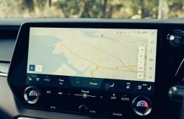Lexus RX L, 2021, display screen