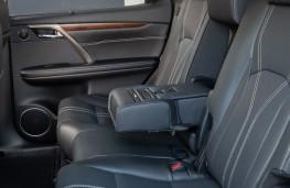 Lexus RX 450hL, 2018, rear seats