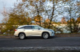 Lexus RX L, 2021, side