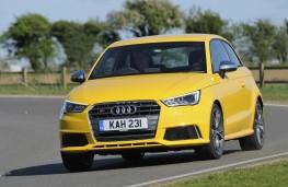 Audi S1 quattro, front, action