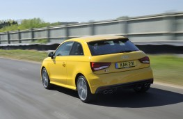 Audi S1 quattro, rear
