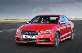 Audi S3 Saloon, front, action
