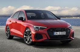 Audi S3 saloon, 2020, front