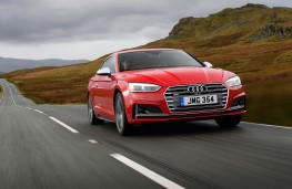 Audi S5 Coupe, 2016, front, action