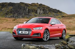 Audi S5 Coupe, 2016, front, static