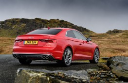 Audi S5 Coupe, 2016, rear, static