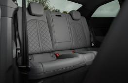 Audi S5 Coupe, 2016, rear seats