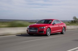 Audi S5 3.0 TFSI quattro, 2016, side, action