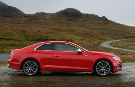 Audi S5 Coupe, 2016, side, static