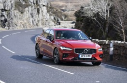Volvo S60, 2019, front