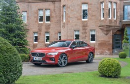 Volvo S60, 2019, front, static