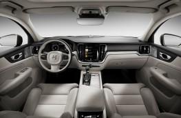 Volvo S60, 2018, dashboard