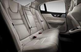 Volvo S60, 2018, rear seats