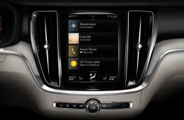 Volvo S60, 2018, Sensus display screen