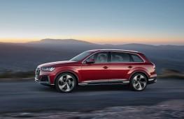 Audi Q7, 2019, side