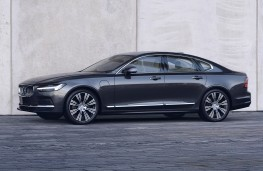 Volvo S90 Recharge, 2021, front